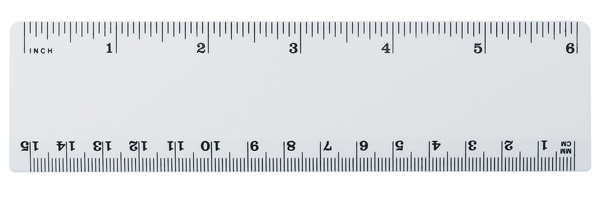 PromotionalPlastic6Ruler16363